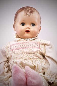 Free Vintage Doll Stock Image - 17107651