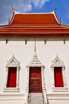 Free Art Of Thai Window Royalty Free Stock Images - 17107739