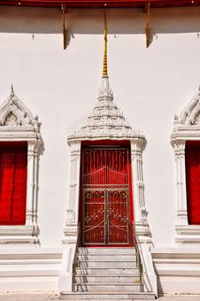 Free Art Of Thai Window Royalty Free Stock Images - 17107819