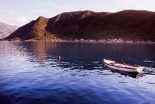 Free Boat In Montenegro Stock Photos - 17107833