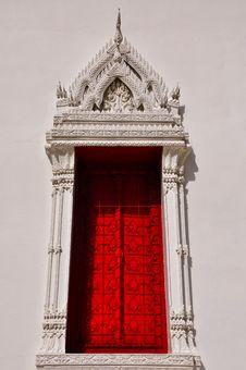 Free Art Of Thai Window Stock Photo - 17107890