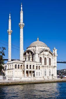 Free Ortakoy Mosque Royalty Free Stock Photo - 17107945