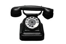 Free Ancient Black Phone Royalty Free Stock Photo - 17108015