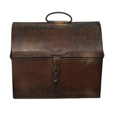 Old Brown Chest Stock Photography