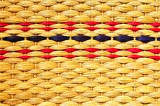 Free Texture Of Woven Bag Royalty Free Stock Photo - 17108125