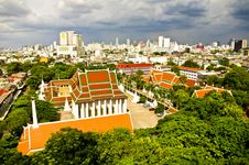 Free View Of Bangkok City,thailand Stock Image - 17108161