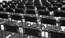 Free Lot Of Chairs Stock Image - 17108171