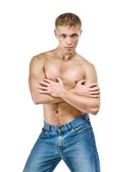 Beautiful Male Body Stock Image