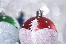 Free Bright Christmas Balls Stock Photos - 17109623