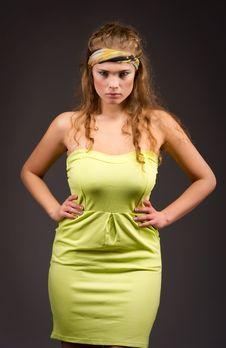 Free Elegant Beautiful Woman Royalty Free Stock Image - 17109776