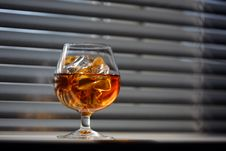 Free Whisky Glass Stock Images - 17109834