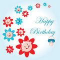 Free Happy Bithday Fake Paper Card Stock Image - 17110291