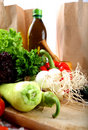 Free Vegetables And Olive Oil Royalty Free Stock Image - 17113906