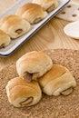 Free Decorated Mini Hotdog Bun Stock Photography - 17116002