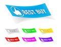 Free Best Buy,stickers Stock Photos - 17116393