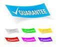 Free Guarantee Check Mark,stickers Royalty Free Stock Photos - 17116568