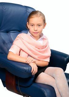 Attractive Little Girl Portrait Stock Photos