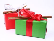 Free Christmas Gifts Stock Image - 17111411