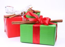 Free Christmas Gifts Royalty Free Stock Image - 17111436