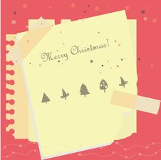 Free Christmas Banner Royalty Free Stock Photos - 17111478