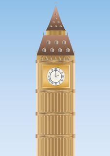Free Big Ben Royalty Free Stock Photo - 17111485