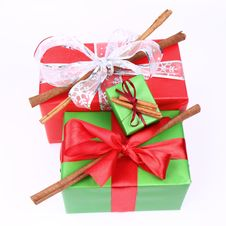 Free Christmas Gifts Royalty Free Stock Image - 17111516