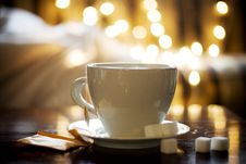 Free Tea In White Cup Stock Photography - 17111582