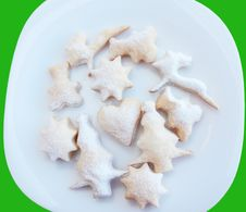 Christmas Pastry Stock Images