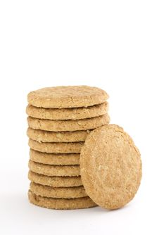 Free Pile Of Delicious Oat Cookies Royalty Free Stock Image - 17111636