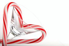 Free Christmas Cane Royalty Free Stock Photography - 17111957