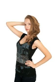 Free Girl Stock Photo - 17112420