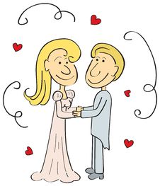 Free Wedding Couple Royalty Free Stock Images - 17112799
