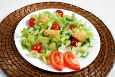 Free Fresh And Healthy Salad Royalty Free Stock Photo - 17114715
