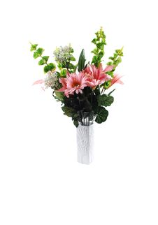 Free Bunch Of Silk Flowers. Royalty Free Stock Photo - 17114965