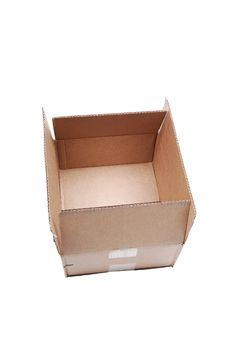Free Cardboard Box. Royalty Free Stock Photography - 17114997