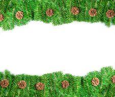 Free Christmas Green Framework Stock Photos - 17115793