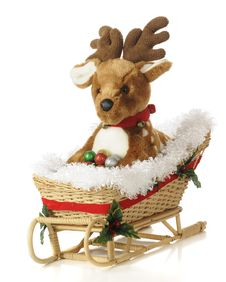 Free Fawn In A Sleigh Stock Photo - 17115890