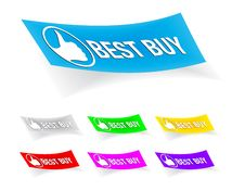 Free Best Buy,stickers Stock Photos - 17116393