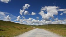 The Cloud And Mountain Of Tibet Royalty Free Stock Photos