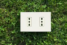 Electrical Outlet Stock Image