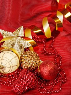 Christmas Accessories Royalty Free Stock Image