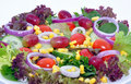 Free Salad With Grapes Royalty Free Stock Photos - 17129008