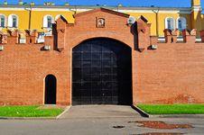 Free Gates In The Kremlin Royalty Free Stock Photo - 17121655
