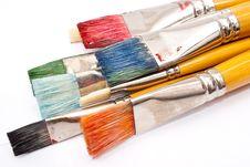 Free Paint Brushes Stock Photos - 17123463