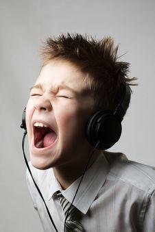 Free Screaming Boy Royalty Free Stock Image - 17123816