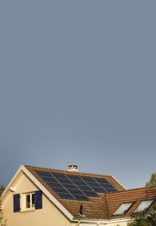 Free Solar Panels Royalty Free Stock Images - 17123839