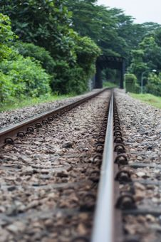 Free Railway Track Stock Image - 17123941