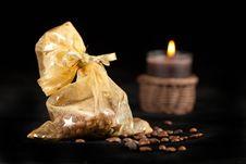Free Christmas Coffee Beans Stock Photos - 17124123