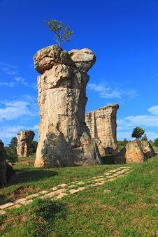 Free Mor Hin Khao, Thailand Stonehenge Stock Image - 17124141