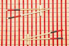 Free Sticks For Sushi Royalty Free Stock Photos - 17124668